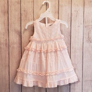 Like New Tahari Soft Pink Dress 12m